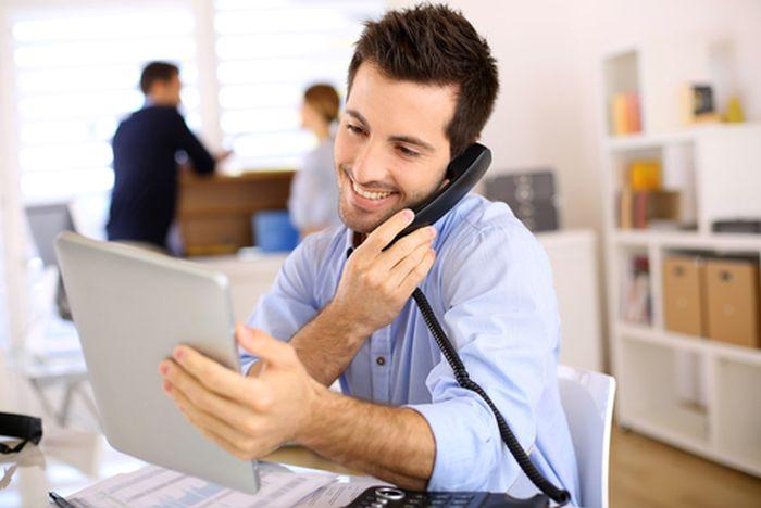 Tiếp thị tư vấn bán hàng qua điện thoại