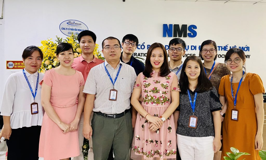 HanoiTelecom chúc mừng sinh nhật NMS
