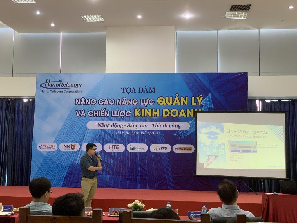 NMS thuyết trình về dự án tại buổi tọa đàm