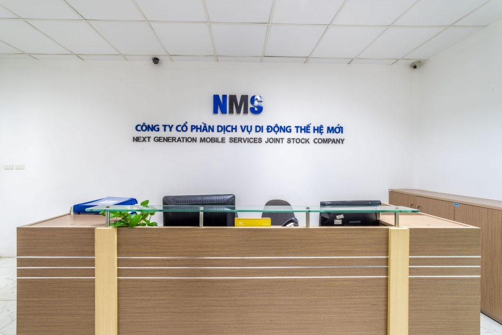 Không gian văn phòng công ty NMS